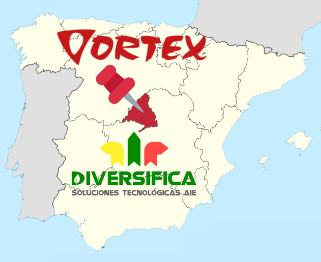 Vortex como delegado de diversifica en madrid