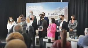 Foto de los galardonados de los premios a la Excelencia de EconomÍa Social Madrileña